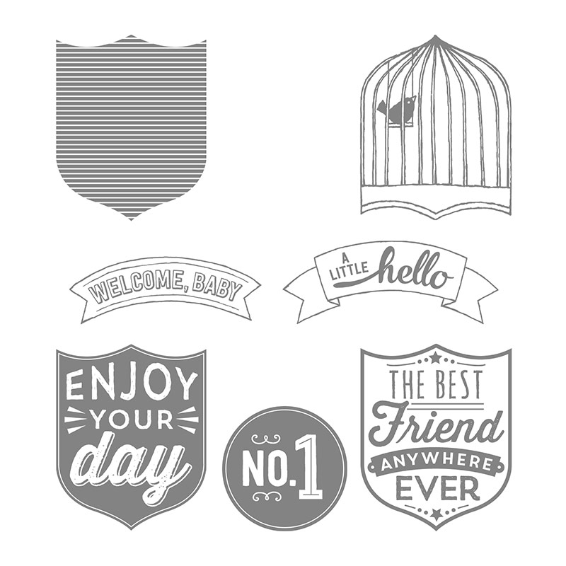 Afbeeldingsresultaat voor stampin up badges and banners