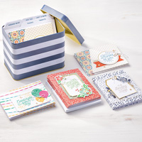 Designer Tin of Cards Project Kit