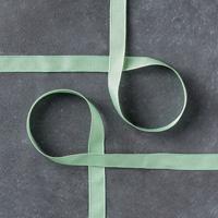 Mint Macaron 3/8 (1 cm) Sheer Linen Ribbon
