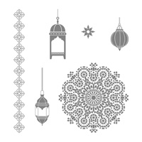Moroccan Nights Clear-Mount Stamp Set