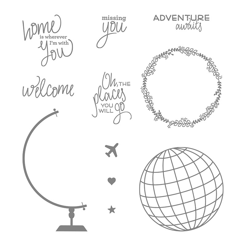Places You'll Go, Stampin' Up!