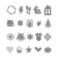 Every Occasion Wood-Mount Stamp Set