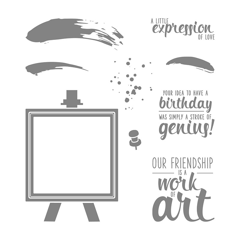 Painter's Palette, Stampin' Up!