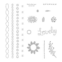 Lovely Stitching Photopolymer Stamp Set