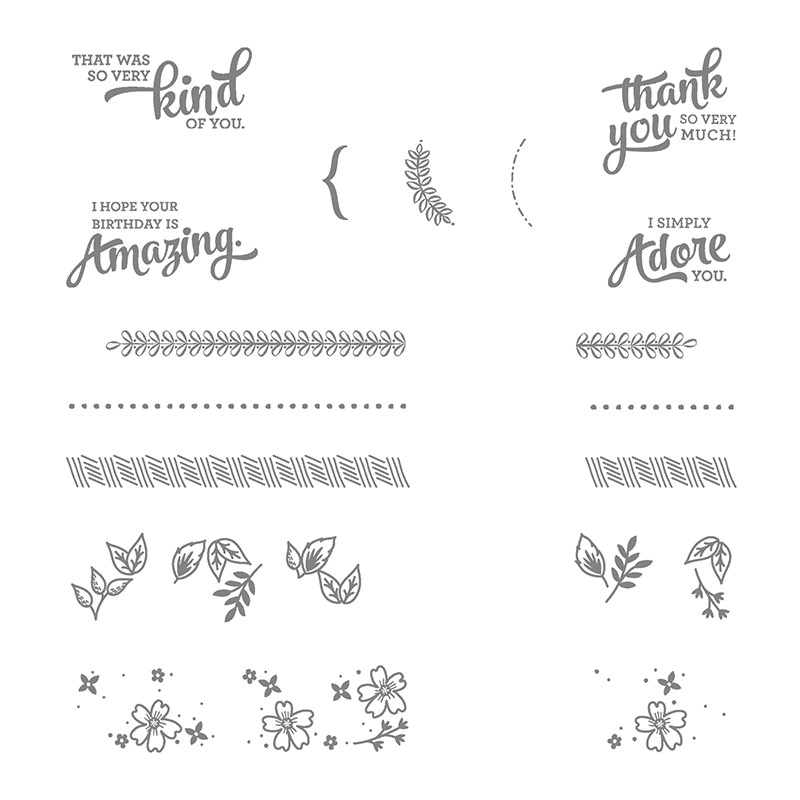 Mixed Borders, Stampin' Up!