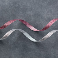3/8 (1 cm) Glitter Ribbon Combo Pack