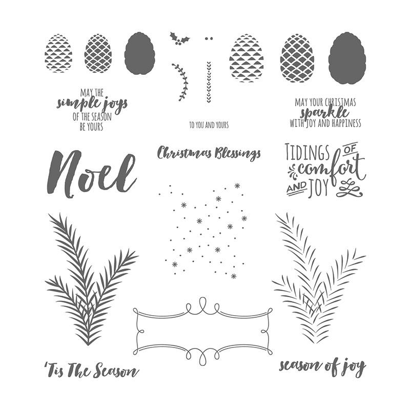 Christmas Pines, Stampin' Up!