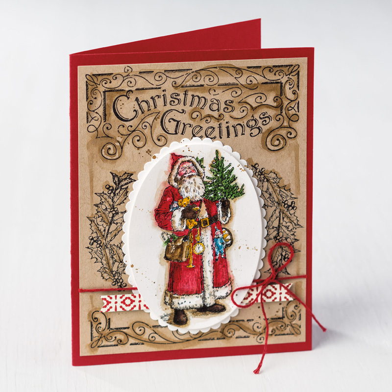 Father Christmas Clear-Mount Stamp Set by Stampin' Up!