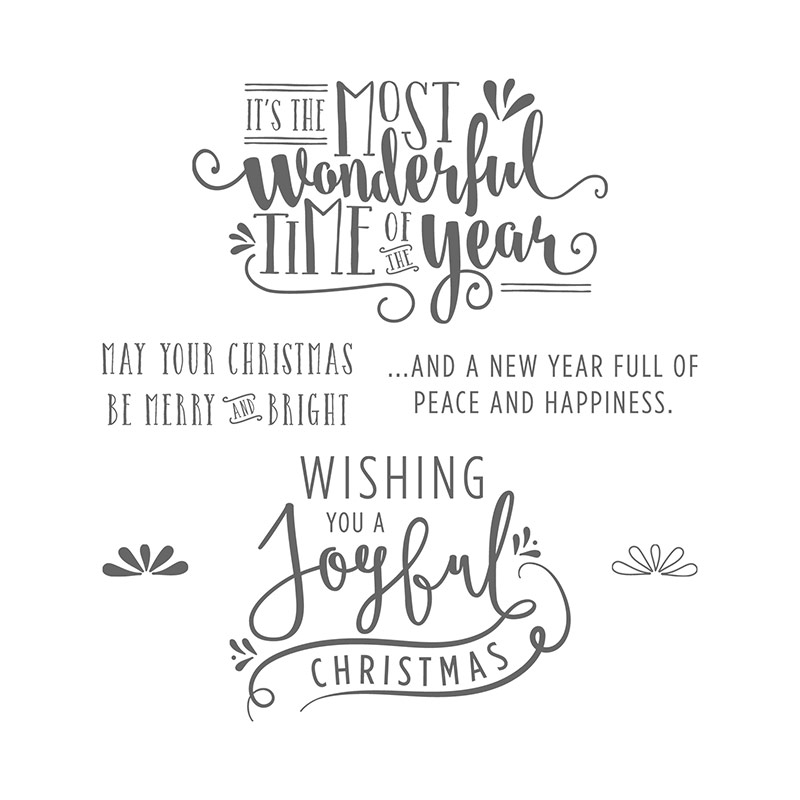 Wonderful Year, Stampin' Up!