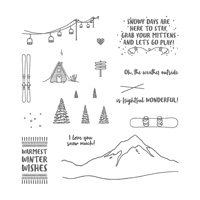 Mountain Adventure Photopolymer Stamp Set