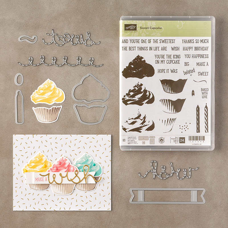 Sweet Cupcake Bundle, Stampin' Up!