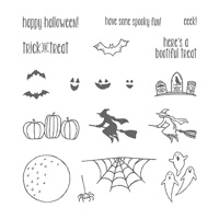 Spooky Fun Photopolymer Stamps
