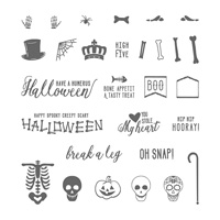 Mr. Funny Bones Photopolymer Stamp Set