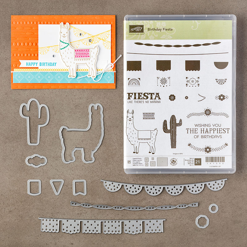 Birthday Fiesta Bundle, Stampin' Up!