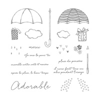 Contre vents et marées Photopolymer Stamp Set (French)