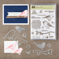 Envolée de vœux Photopolymer Bundle (French)