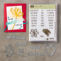 SUNSHINE SAYINGS CLEAR-MOUNT BUNDLE Price: $45.00