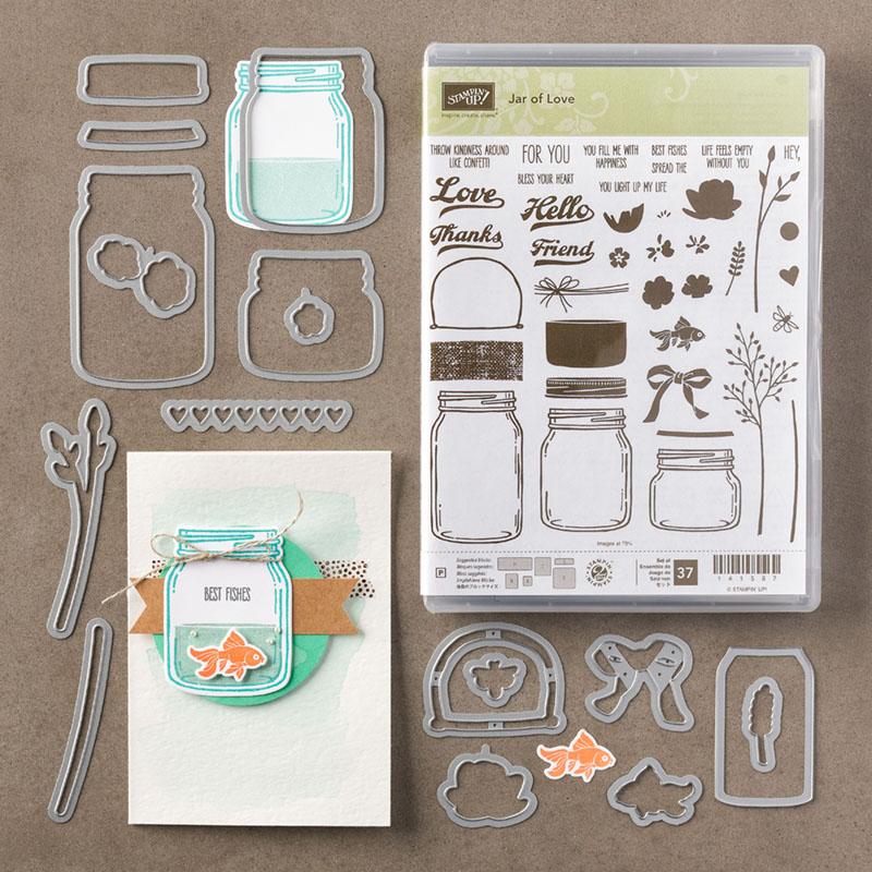 Jar of Love Photopolymer Bundle, Stampin' Up!