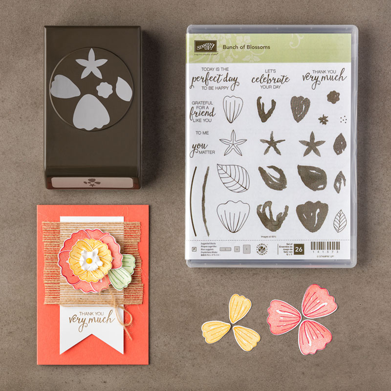 Bunch of Blossoms Bundle, Stampin' Up!