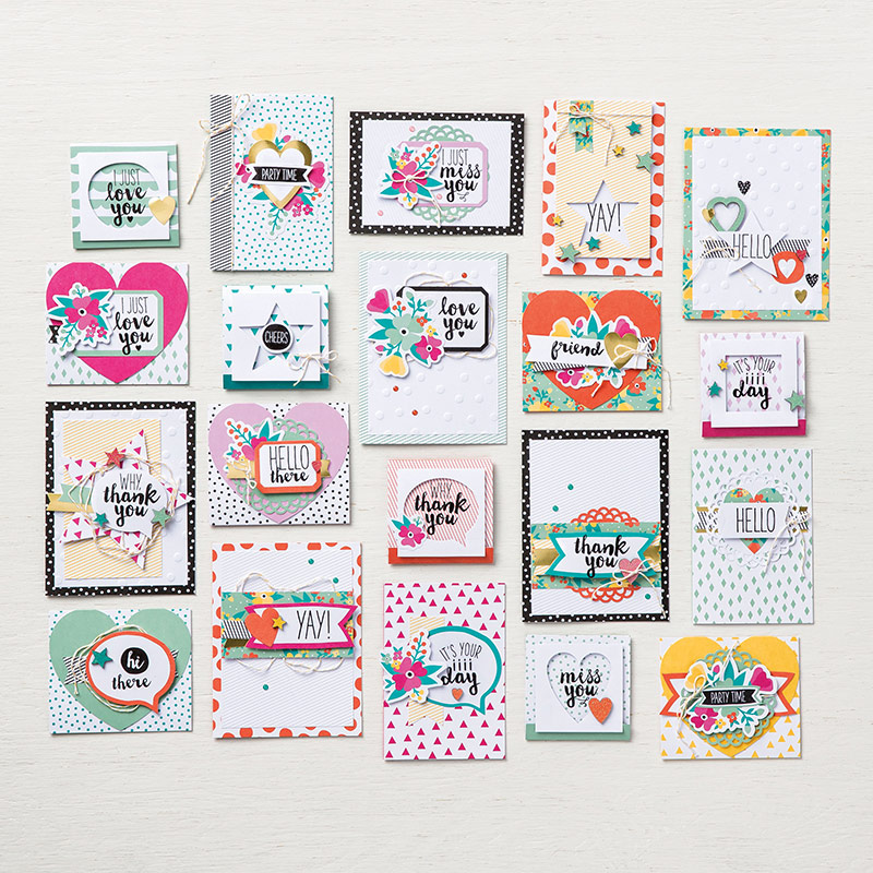 Oh Happy Day Card Kit Stampin' Up!