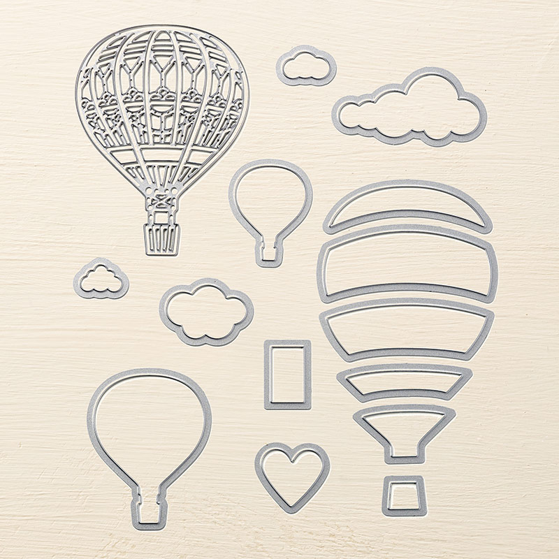 Up & Away Thinlits Dies, Stampin' Up!