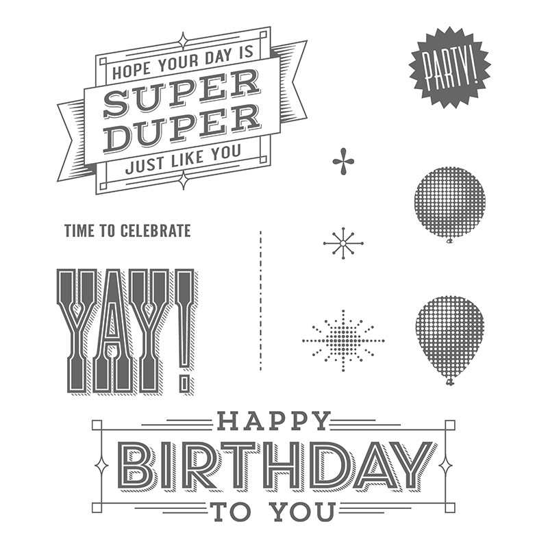 Super Duper, Stampin' Up!