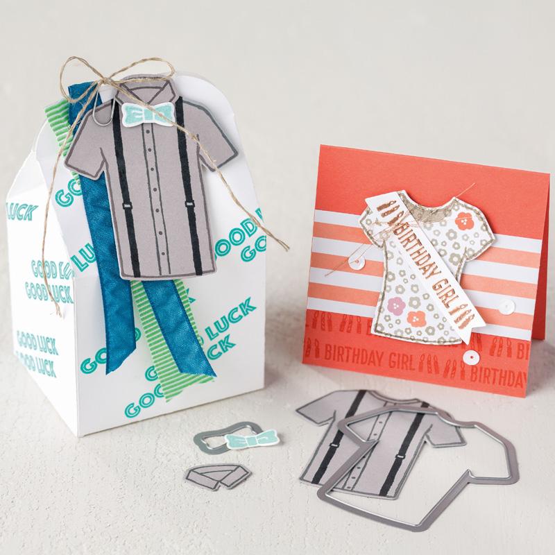 Custom Tee Photopolymer Stamp Set