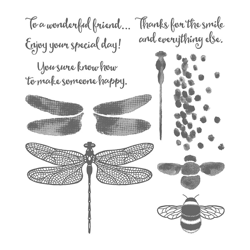Dragonfly Dreams Photopolymer Stamp Set