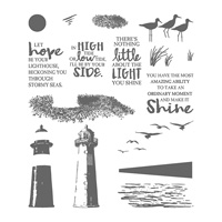 High Tide Photopolymer Stamp