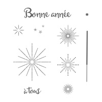 Fêtons les Fêtes Clear-Mount Stamp Set (French)