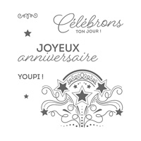 Fête endiablée Clear-Mount Stamp Set