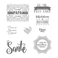 Étiquettes du quotidien Clear-Mount Stamp Set