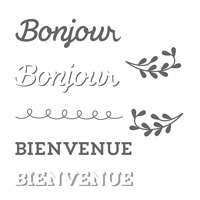 Accueil florissant Photopolymer Stamp Set