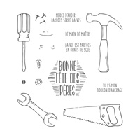 Les bons outils Clear-Mount Stamp Set