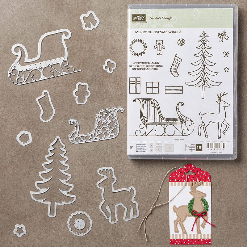 Santa's Sleigh Bundle, Stampin' Up!