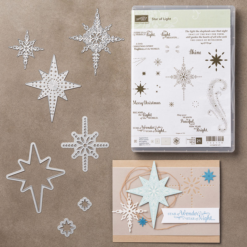 Star of Light Bundle, Stampin' Up!