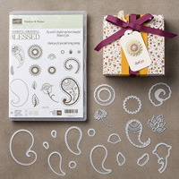 Paisleys & Posies Bundle set