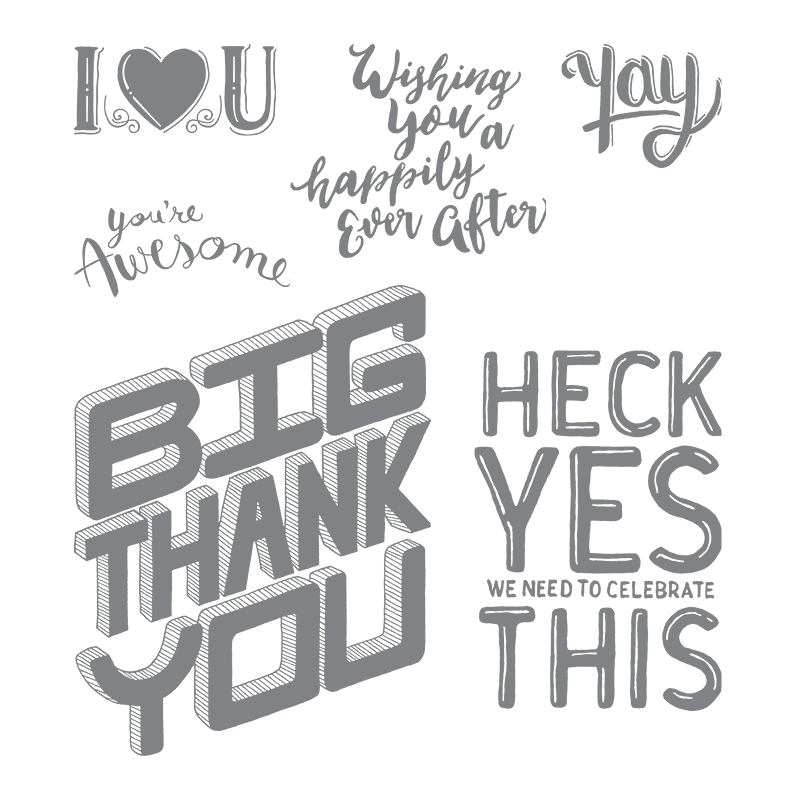 Great Big Greetings, Stampin' Up!