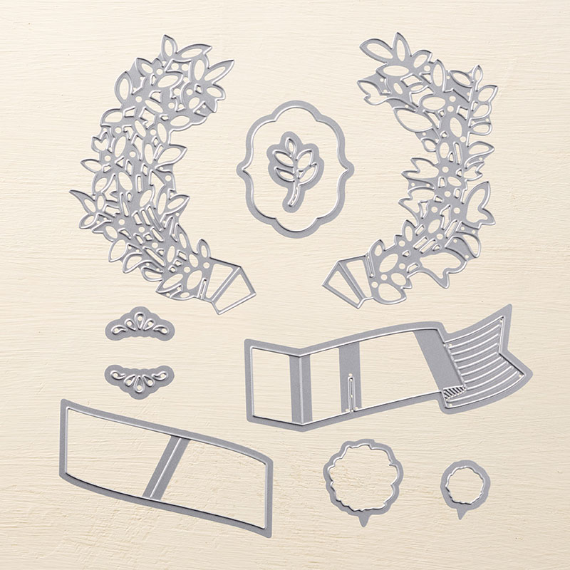 Lovely Laurel Thinlits, Stampin' Up!