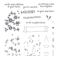 Home Life Photopolymer Stamp Set