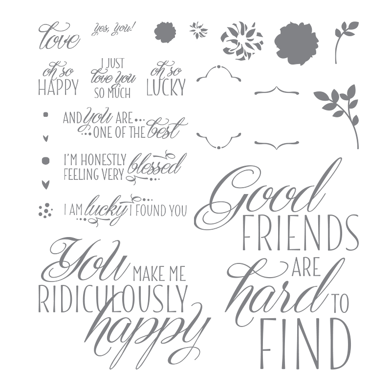 Lovely Friends, Stampin' Up!