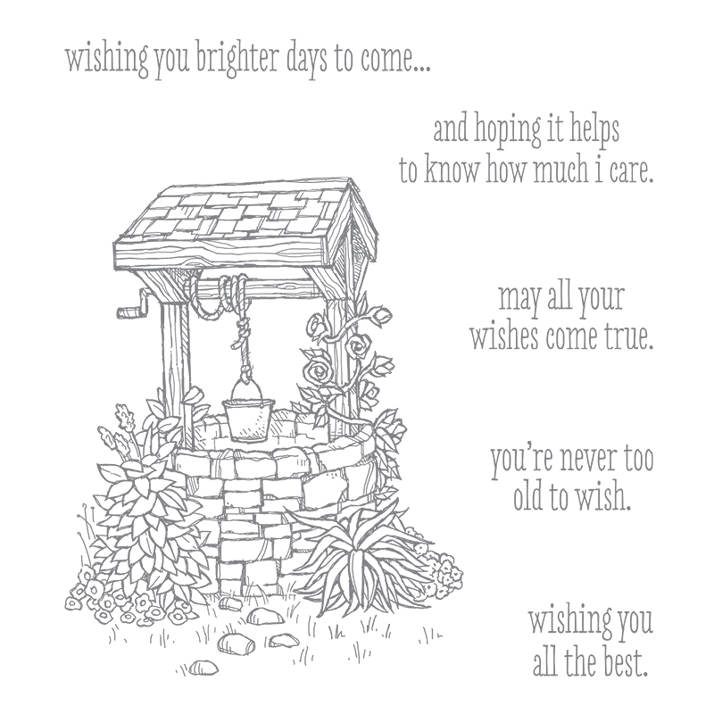 Bright Wishes Clear-Mount Stamp Set