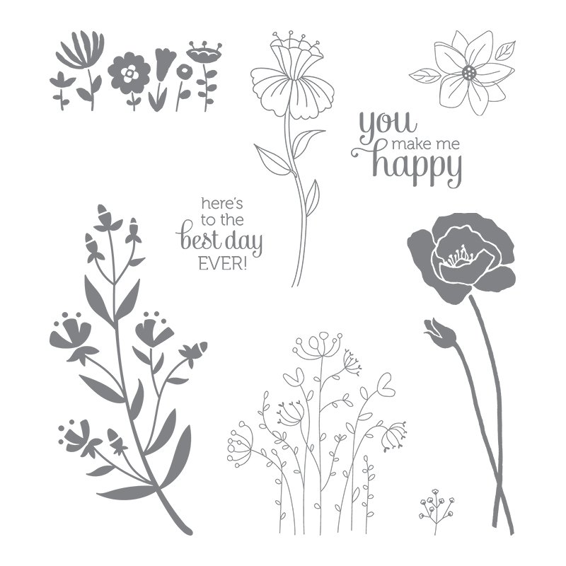 Image result for stampin up flirty flowers