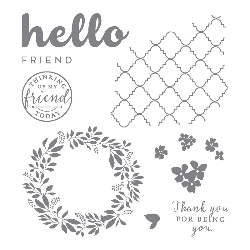 Hello Friend, Stampin' Up!