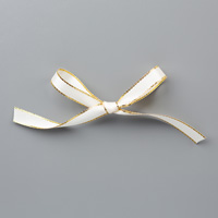 Gold Metallic Edge Ribbon