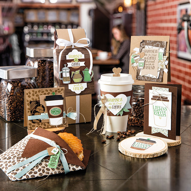 Coffee Break Designer Series Paper