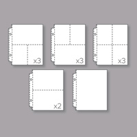 Variety Pack 6 x 8 Photo Pocket Pages