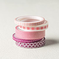 Basic Pack 1 Pinks Washi Tape