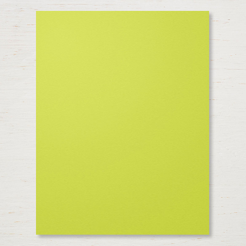 "Lemon Lime Twist 8-1/2"" x 11"" Cardstock"