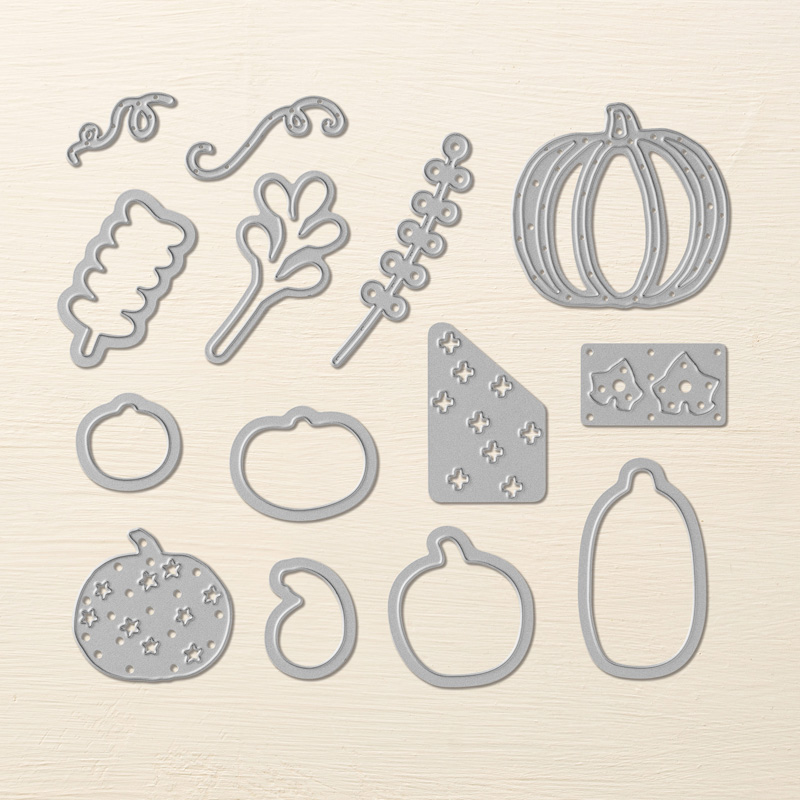 Patterned Pumpkins Die Set